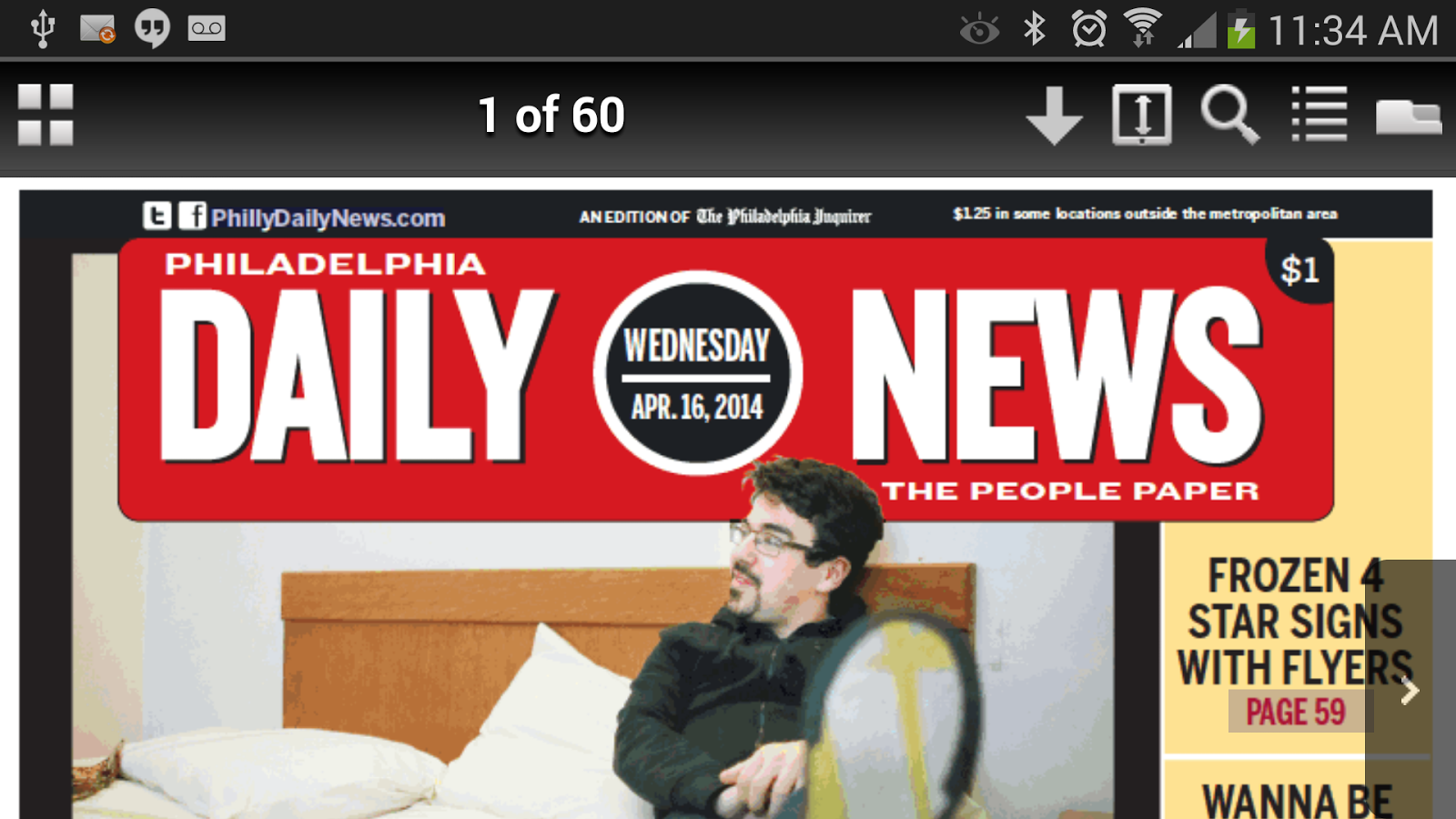 Philadelphia DailyNews Replica- screenshot