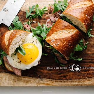 Steak And Egg Sandwich Recipes.