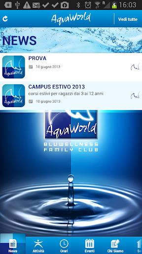 AqvaWorld Wellness family club