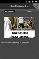 Screenshot of Makdon