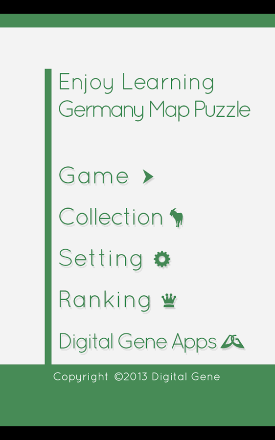 Enjoy L. Germany Map Puzzle- screenshot
