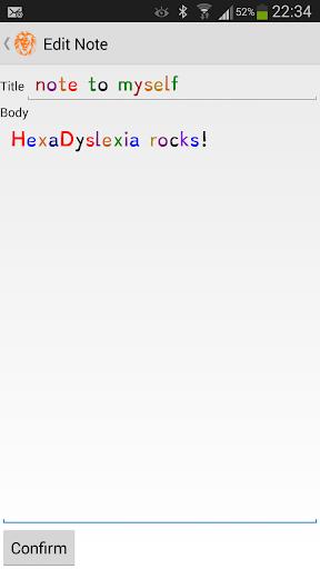 HexaDyslexia