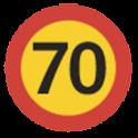 Speed camera alert (Free) logo