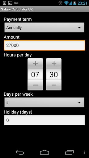 Salary Calculator 2014 15 - UK
