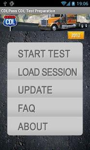 CDL Commercial Driver TestPrep- screenshot thumbnail
