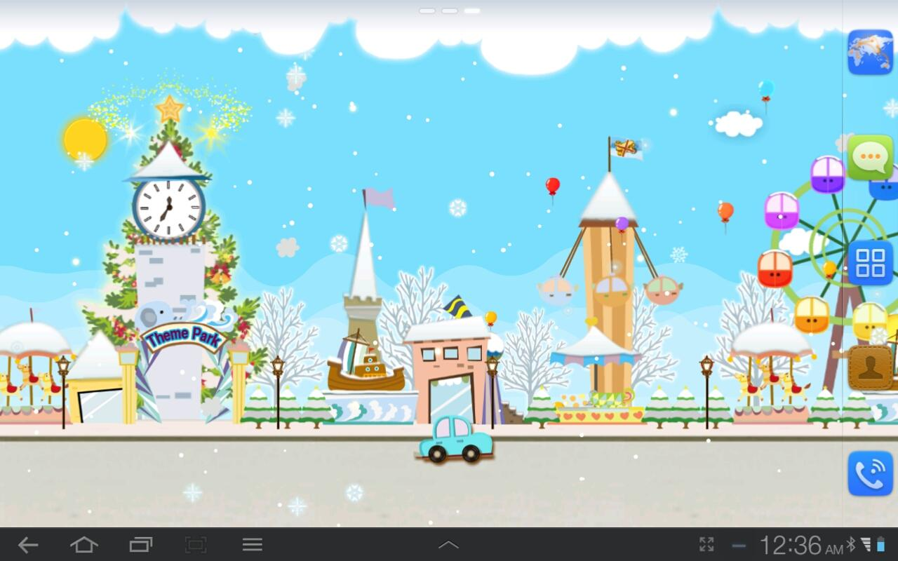My Christmas Wonderland LWP - screenshot