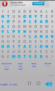 WordSearch Puzzle Free- screenshot thumbnail