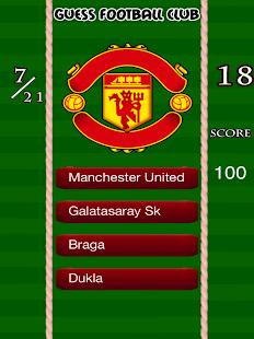 Football Clubs Logo Quiz Game