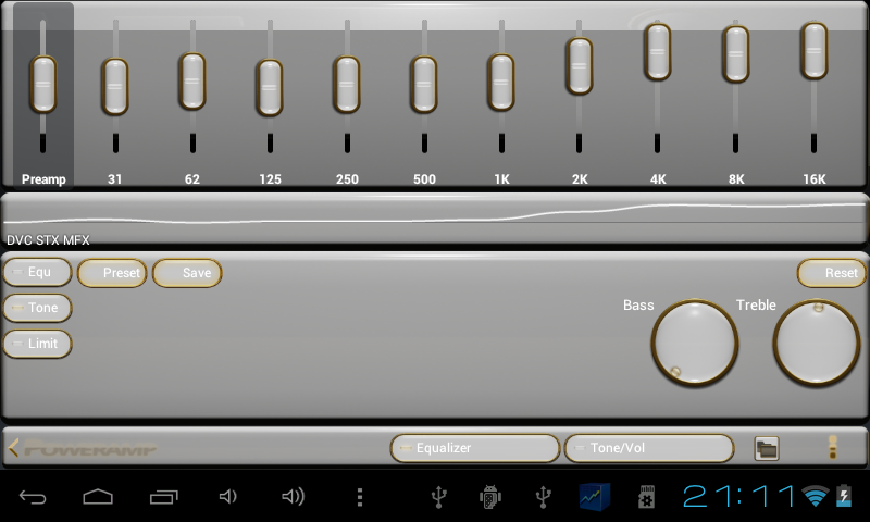 gold white power amp skin - Android Apps on Google Play