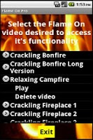 Screenshot of Fireplaces and Campfires Pro