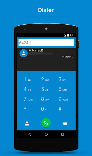 ExDialer Theme Android L Dark