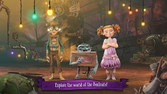 The Boxtrolls: Slide 'N' Sneak Screenshot 9