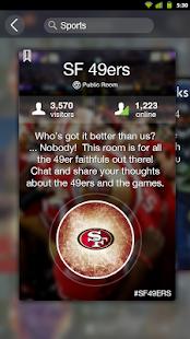 Mingle social& live chat rooms - screenshot thumbnail