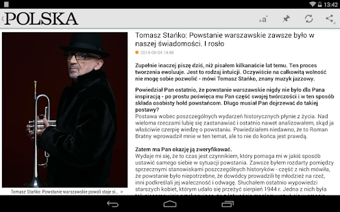 Polska Times- screenshot thumbnail