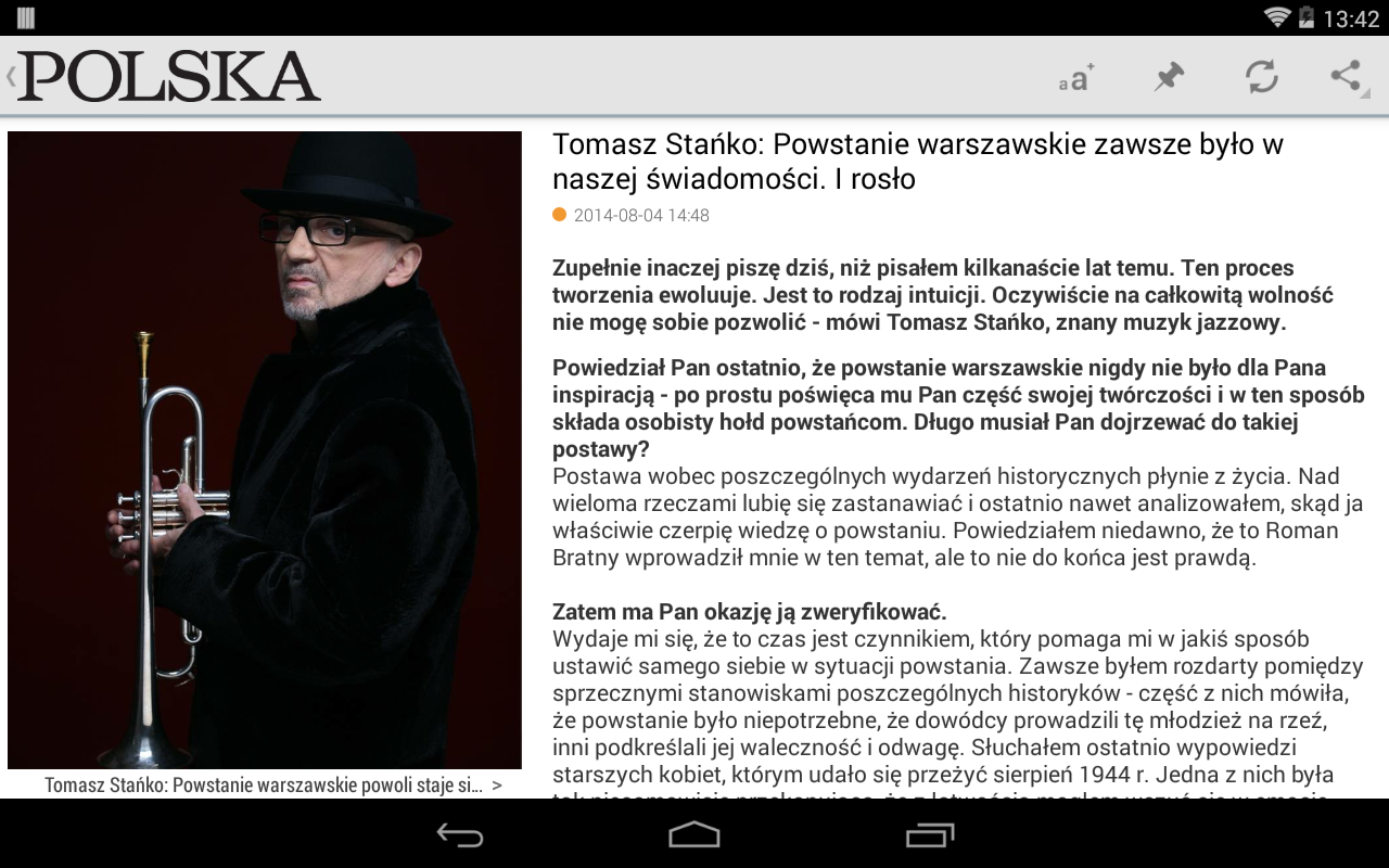 Polska Times- screenshot