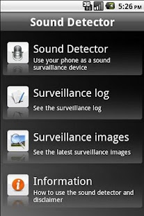 Sound Detector- screenshot thumbnail