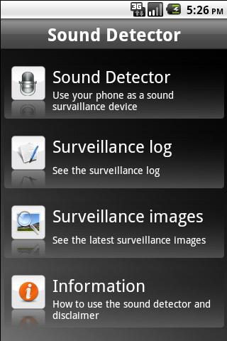 Sound Detector- screenshot