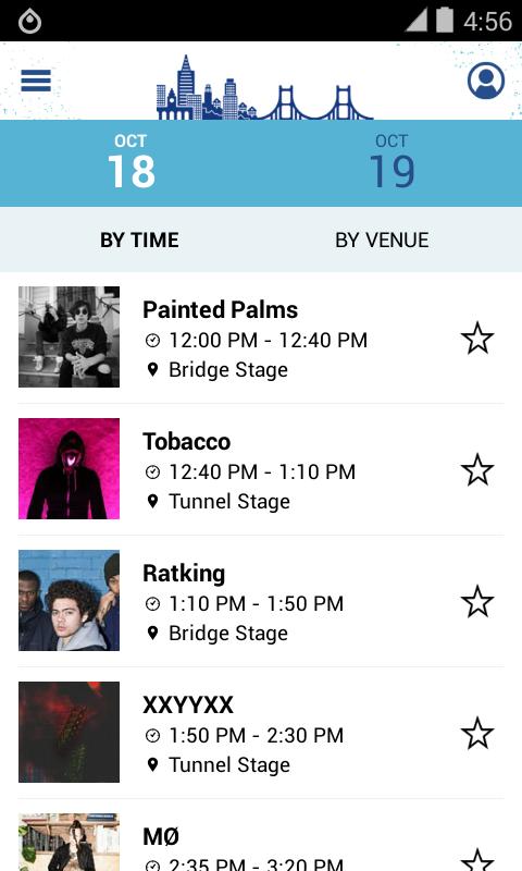 Treasure Island Music Festival - screenshot