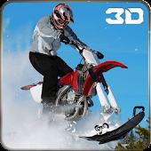 Extreme Snow Mobile Stunt Bike