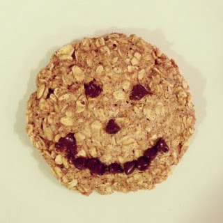 Microwave Oatmeal Cookie for One.