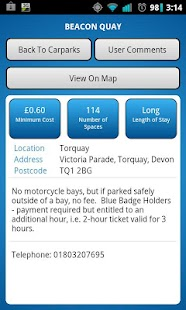 Car Park Finder - screenshot thumbnail