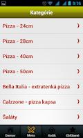 Screenshot of Pizza La Stella