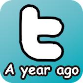 MeAYearAgo - Twitter widget