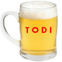 TODI, the drinking game icon