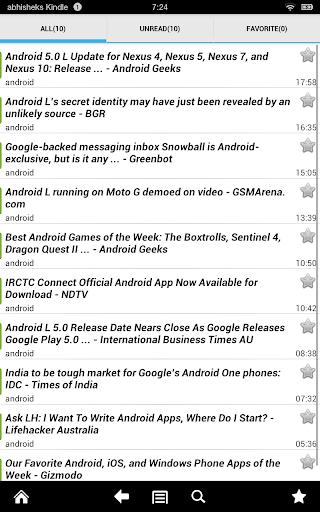 World Newspapers screenshot
