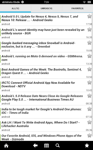 World Newspapers screenshot for Android