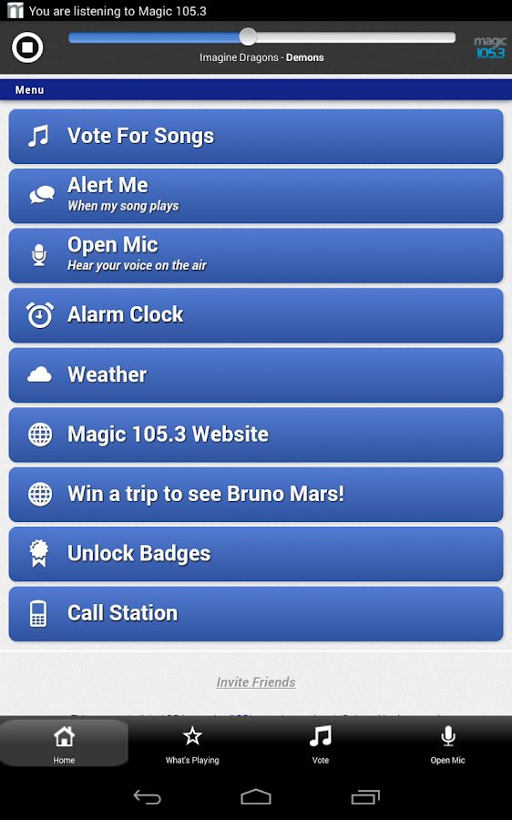 Magic 105.3 Today's Best Music - screenshot