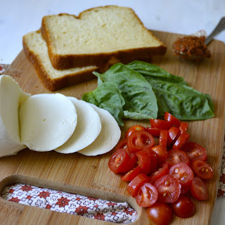 Fresh Tomato, Mozzarella and Basil Panini
