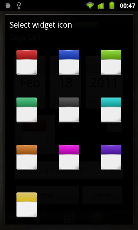 Days Left Widget Pro - screenshot
