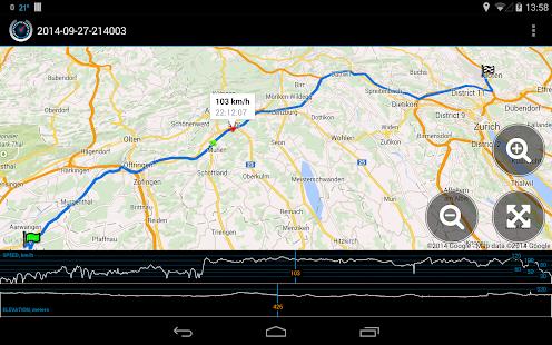 Ulysse Speedometer Screenshot 13