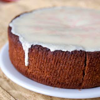 Vanilla Guavaberry Rum Cake.