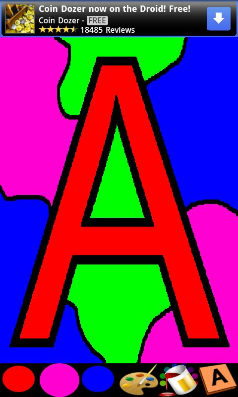 Coloring for Kids - ABC - screenshot
