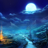 Stars and Moon HD Wallpapers