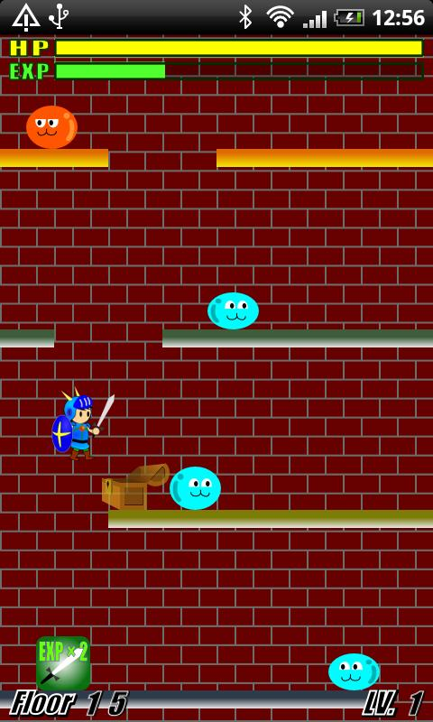 Slime Tower -Hero Jump- - screenshot