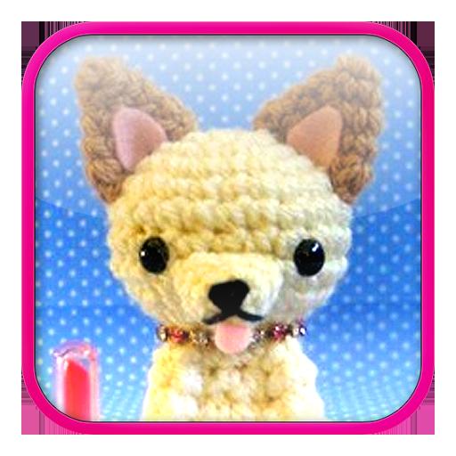 Chihuahua Amigurumi Pattern LOGO-APP點子