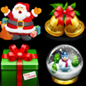 Jewelry game Christmas logo