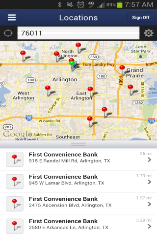 FNBT & FCB Mobile Banking - screenshot