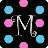 Monogram M Live Wallpaper