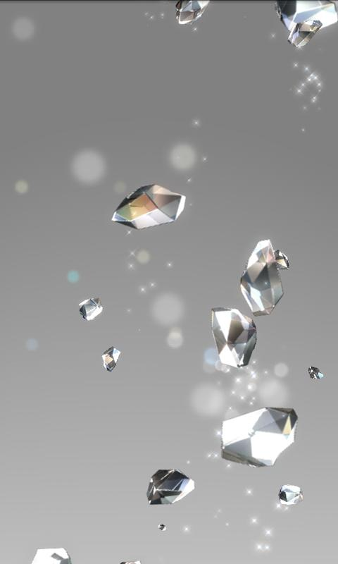 Crystal Live Wallpaper Free- screenshot