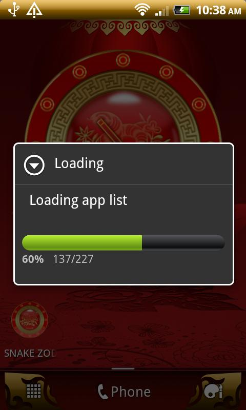 SNAKE - Chinese Zodiac Clock - screenshot