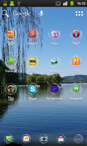 玩個人化App|Soap Bubbles Icon Pack免費|APP試玩