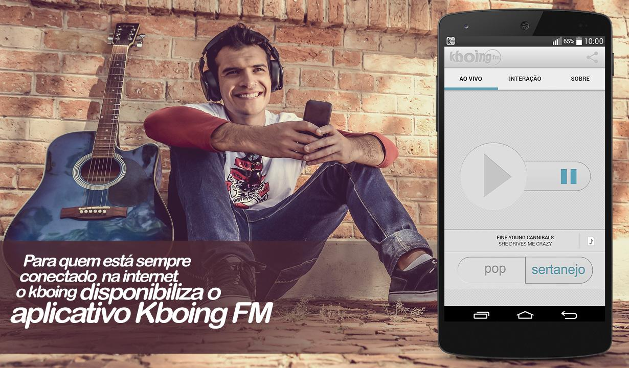 Kboing FM- screenshot