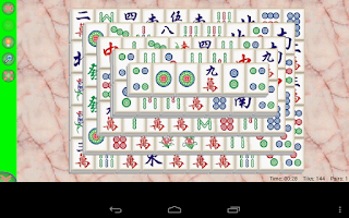 Screenshot of Mahjong Solitaire Free