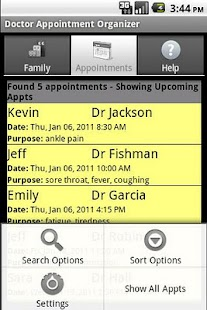 Doctor Appointment Organizer - screenshot thumbnail