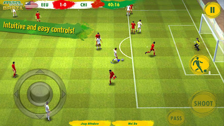 Striker Soccer Brazil 1.2.7 screenshot 193272