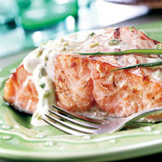 Honey Mustard Salmon .